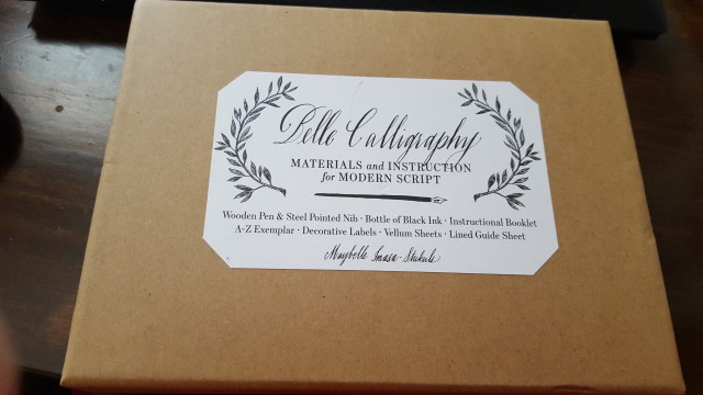 A calligraphy kit!