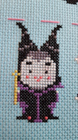 Everyone is cuter as cross stitch