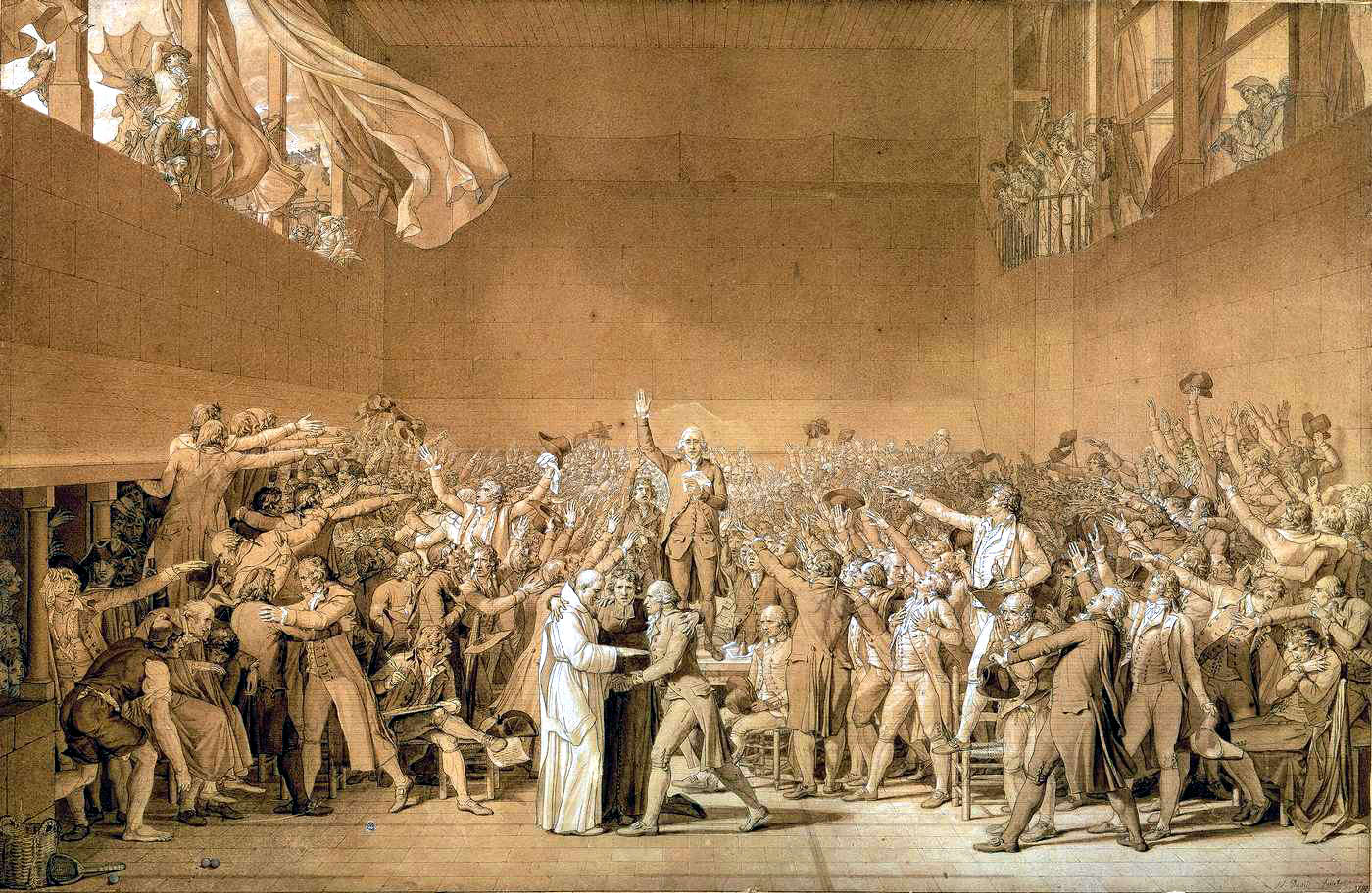 an analysis of the society during the french revolution from 1789 to 1799